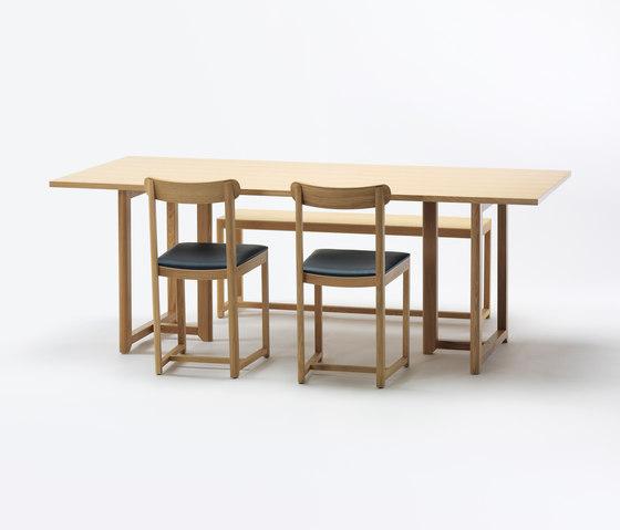 SELERI Dining table de Zilio Aldo & C | Mesas comedor