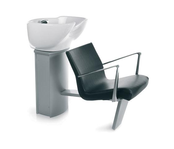 Wash Inn - Ecoblack | GAMMASTORE Shampoo bowl by GAMMA & BROSS | Shampoo bowls