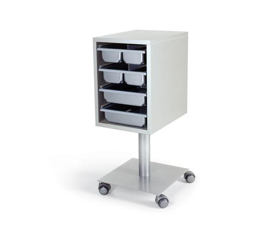 Ezò Trolley | GAMMASTORE Tools holder trolley by GAMMA & BROSS | Trolleys / carts