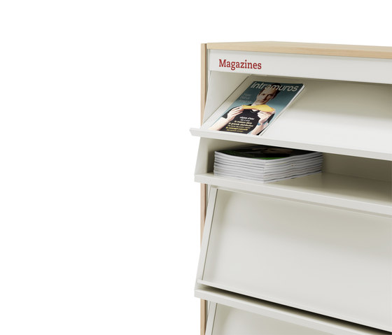 BBL magazines by Mobles 114 | Book displays / holder