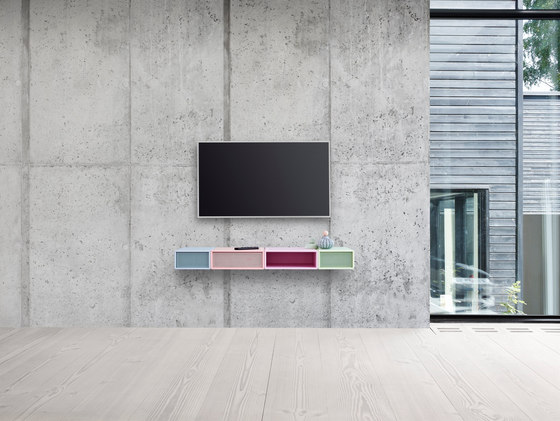 Montana Sound | application example by Montana Møbler | Multimedia sideboards