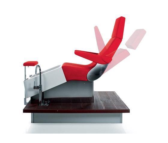 Streamline Deck | SPALOGIC Pedicure station by GAMMA & BROSS | Pedicure task chairs