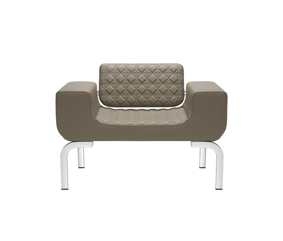 Lounge armchair von sitland | Sessel