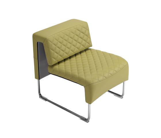 Path diamond armchair von sitland   Sessel
