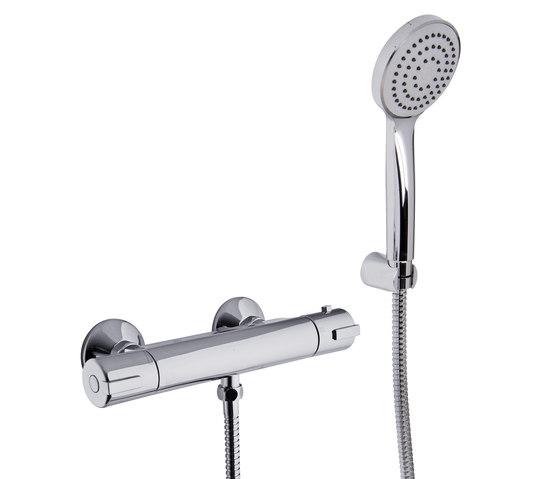 Serie 4 F4075 de Fima Carlo Frattini | Grifería para duchas