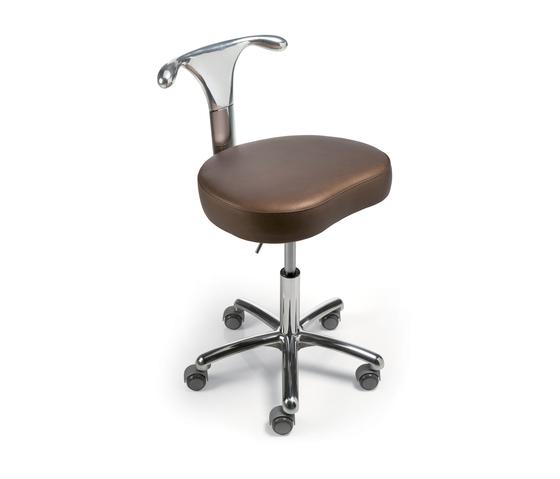 Tuxedo | SPALOGIC Pedicure stool by GAMMA & BROSS | Beauty salon stools