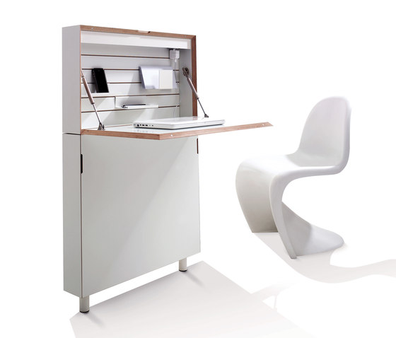 Flatmate CPL white by Müller small living | Desks