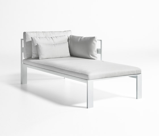 Jian Modular Sofa 2 by GANDIABLASCO | Sun loungers