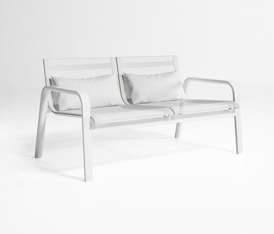 Stack Double Low Armchair by GANDIABLASCO | Garden benches