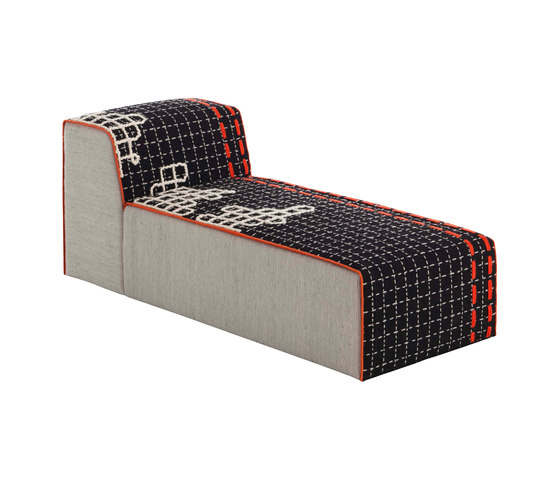 Bandas Chaiselongue D Black 7 de GAN | Chaises longues