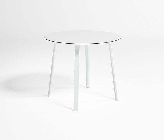 Stack Hoher Runder Tisch von GANDIABLASCO | Garten-Esstische