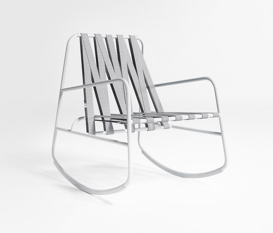 DozeQuinze Rocking Chair by GANDIABLASCO | Garden armchairs