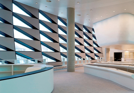 Soft Cells | Wall installation by Kvadrat Soft Cells | Wall panels