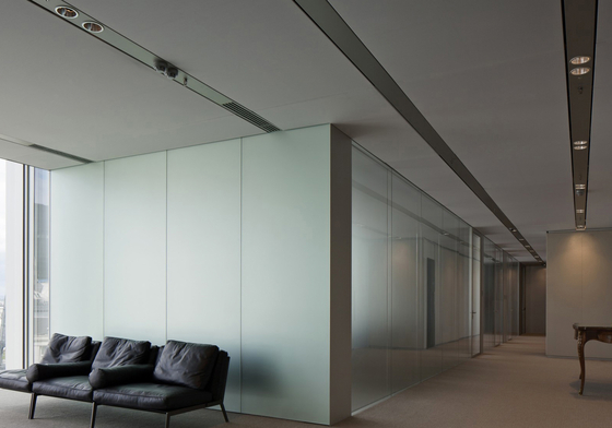 Soft Cells | Ceiling installation by Kvadrat Soft Cells | Illuminated ceiling systems