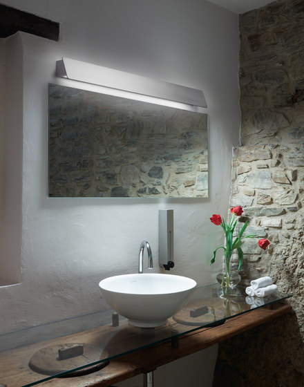 Alba 01 wall lamp by BOVER | Wall lights in aluminium