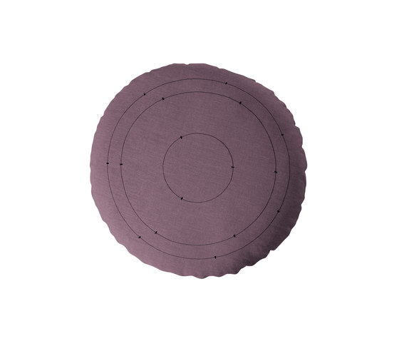 Sound floor cushions by Softline A/S | Cushions