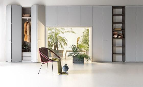 Armadio Liscia | Hinged door by LEMA | Cabinets