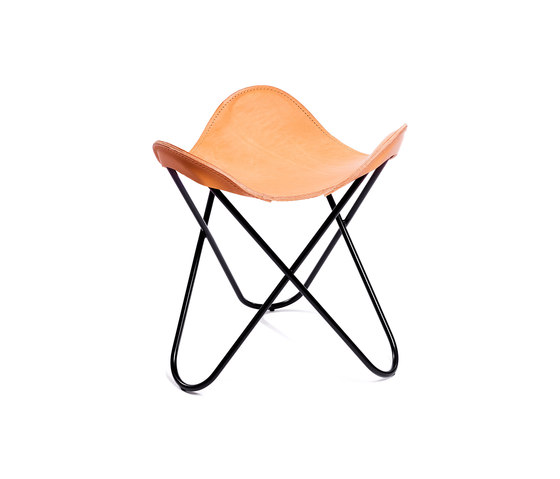 Hardoy | Stool Saddle Leather de Manufakturplus | Taburetes