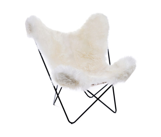 Hardoy | Butterfly Chair | Sheepskin de Manufakturplus | Fauteuils