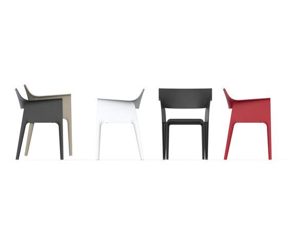 Pedrera chair by Vondom | Chairs