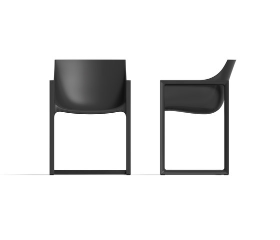 Wall Street chair by Vondom | Restaurant chairs