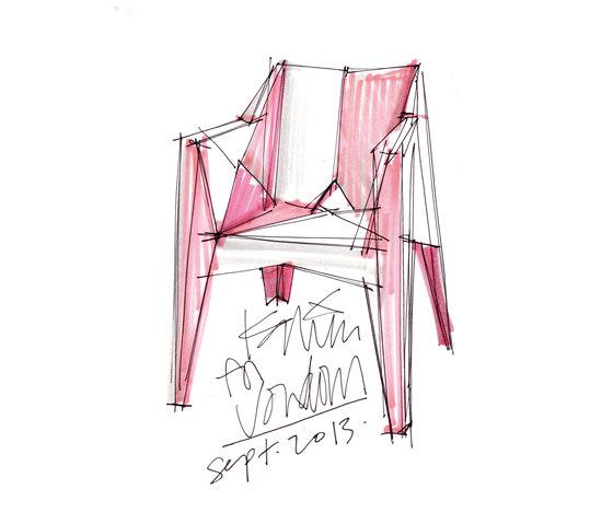 Voxel Street chair by Vondom   Restaurant chairs