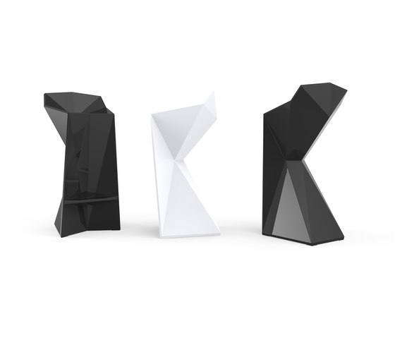 Vertex stool by Vondom | Bar stools