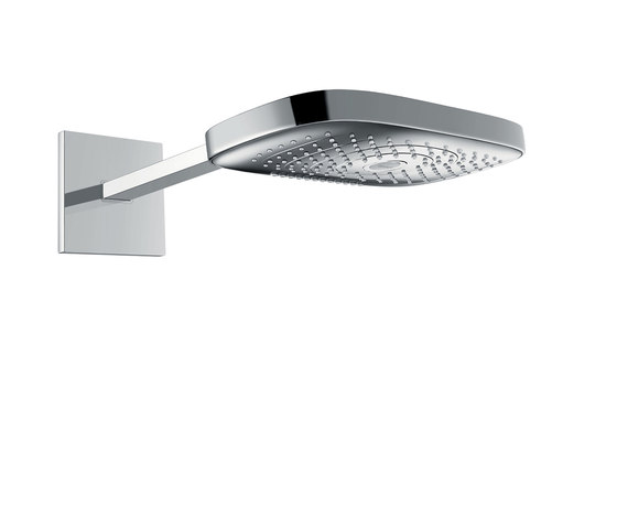 hansgrohe Raindance Select E 300 3jet overhead shower with shower arm 390 mm EcoSmart 9 l/min by Hansgrohe   Shower controls