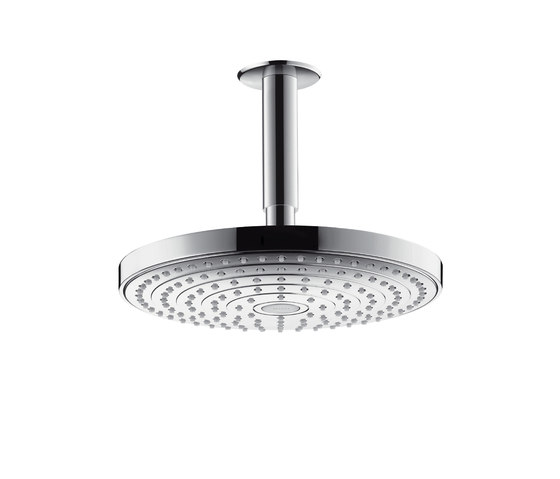 Hansgrohe Raindance Select S 240 2jet overhead shower with ceiling connector 100 mm by Hansgrohe | Shower taps / mixers