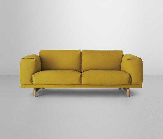 Rest | 2-seater de Muuto | Sofás lounge