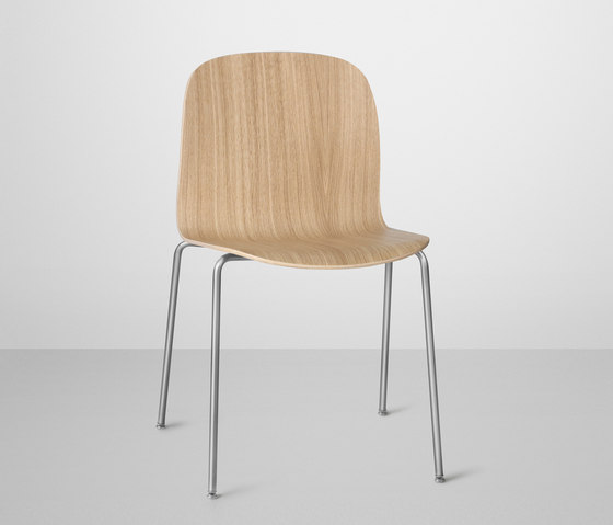 Visu Chair | tube base de Muuto | Sillas multiusos