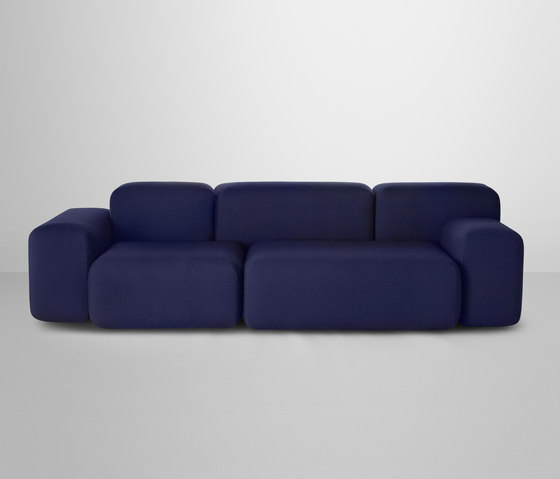 Soft Blocks | 3-seater by Muuto | Lounge sofas