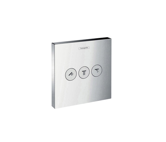 hansgrohe ShowerSelect thermostatic mixer for concealed installation for 1 function by Hansgrohe   Shower taps / mixers