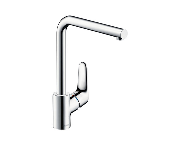 hansgrohe Focus Single lever kitchen mixer with swivel spout by Hansgrohe | Kitchen taps