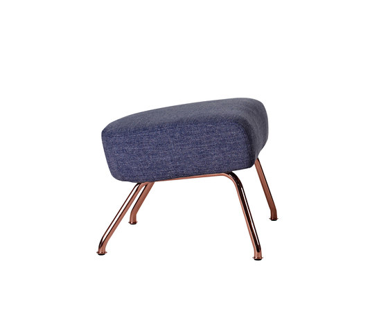 Havana Copper footstool by Softline A/S | Poufs