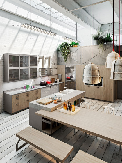 Code Evolution by Snaidero | Fitted kitchens