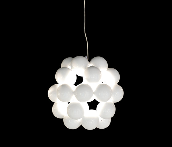 Beads Penta White Pendant by Innermost | Suspended lights