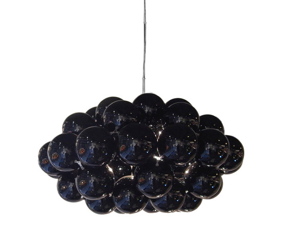 Beads Octo Gloss Black Pendant by Innermost | Suspended lights
