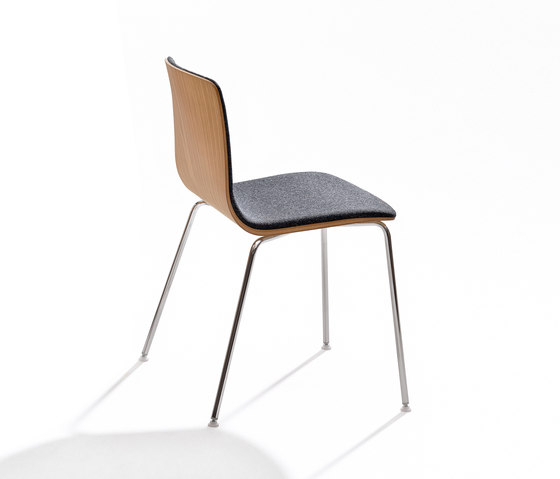 Aava by Arper | Visitors chairs / Side chairs