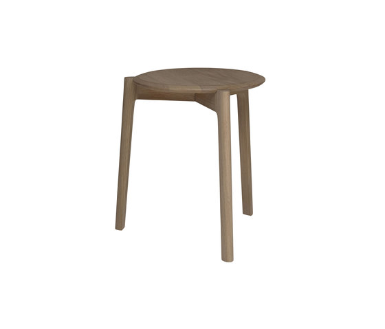 Svelto | Round Stacking Stool by ercol | Stools