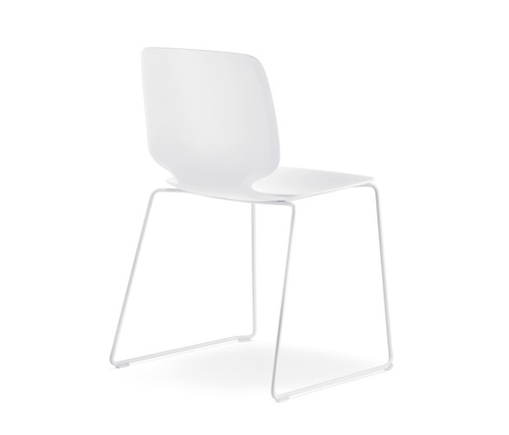 Babila chair in tecnopolymer by PEDRALI | Restaurant chairs