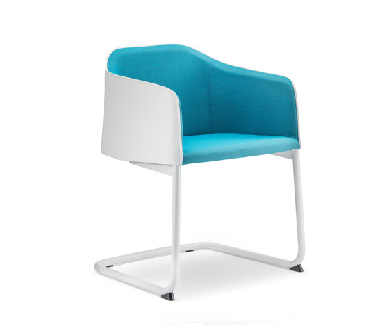 Laja cantilever by PEDRALI | Visitors chairs / Side chairs