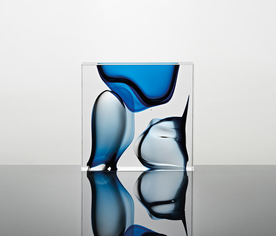 Moments | square blue de Anna Torfs | Objects