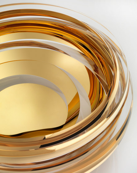 Parts | coupe crystal gold by Anna Torfs | Objects