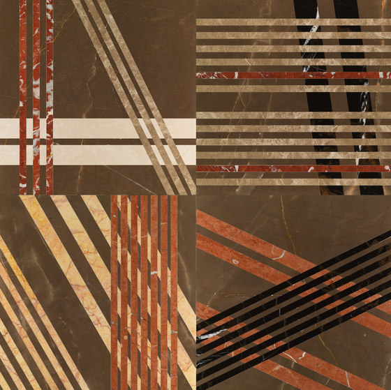 Opus | Mikado cacao by Lithos Design | Natural stone panels