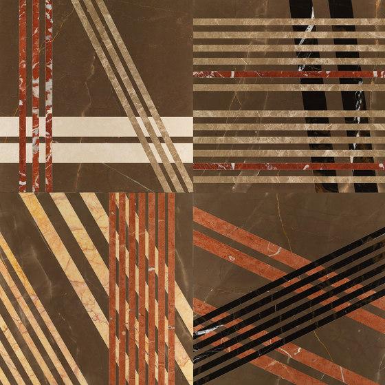 Opus | Mikado cacao von Lithos Design | Naturstein Platten