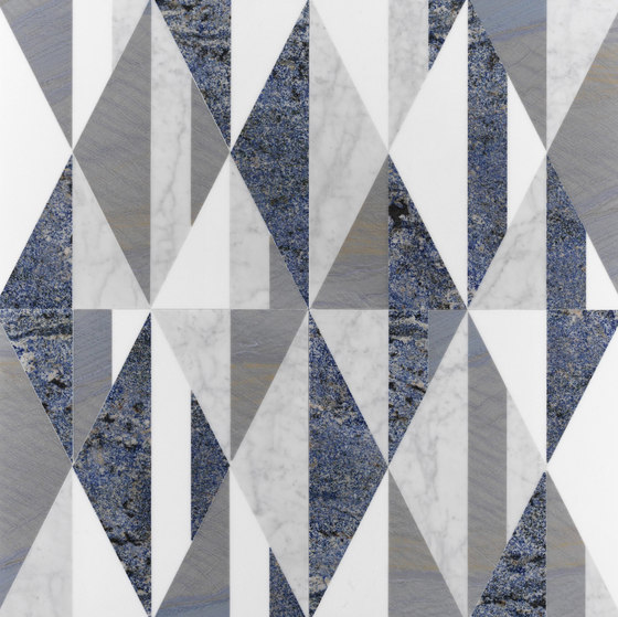Opus | Tangram artico by Lithos Design | Natural stone panels