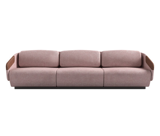 Worn sofa 3 places by Casamania | Lounge sofas
