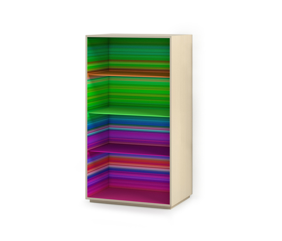 ColorFall bookcase by CASAMANIA-HORM.IT | Shelving