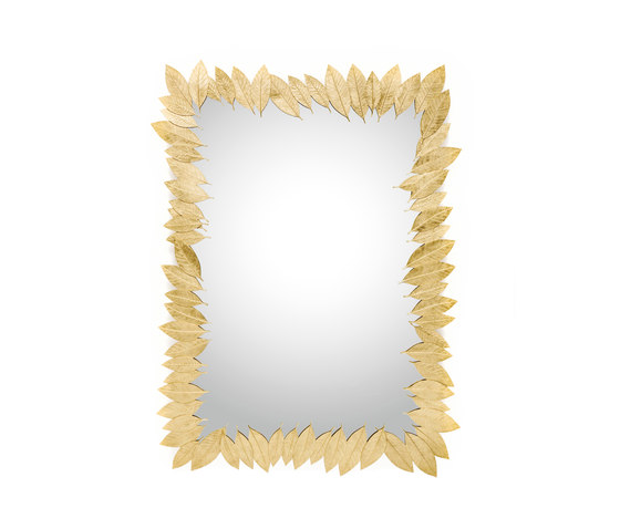 Leaf | Rectangular Mirror by GINGER&JAGGER | Mirrors